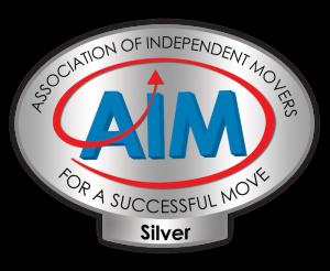 AIM Silver Logo oval